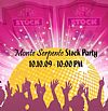 Big Stock Party @ Monte Serpente
