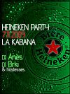 HEINEKEN PARTY @ disco bar LA KABANA, Kaštelir