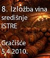 Presentation of wines produced in the central Istria