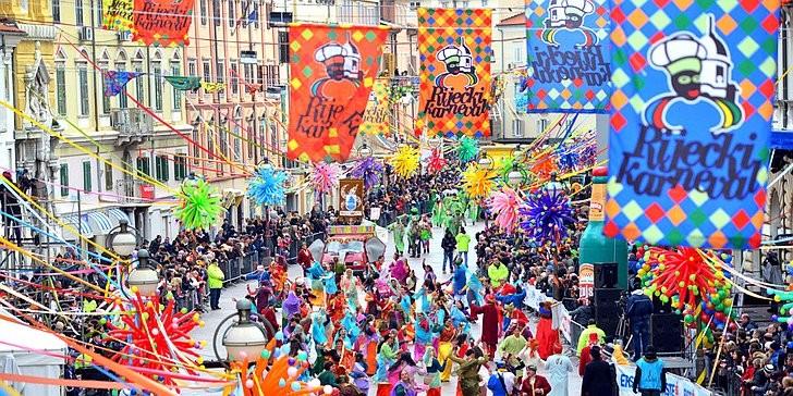 Riječki karneval 2017. - Međunarodna karnevalska povorka