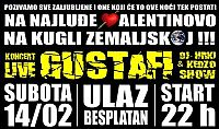 Gustafi in club Uljanik for Valentine