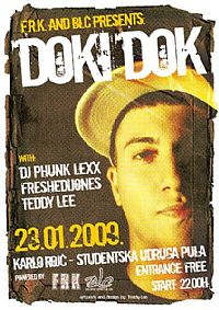 F.R.K. and BLC presents DOKI DOK