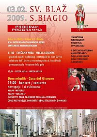Celebration of St. Blaz in Istra