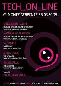 TECH ON LINE @ Monte Serpente