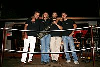 The night express band in Kastelir- Istra (Istria)