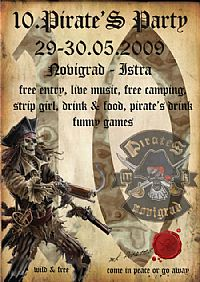 10th MK Pirates Party