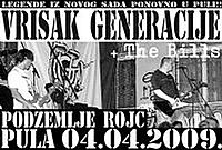 VRISAK GENERACIJE  + The Bills @ Rojc
