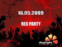 Red Party @ Cocktail bar Daylight, UMAG,  Istria