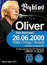 Oliver Dragojević - Live koncert @ Club Byblos, Poreč, Istra