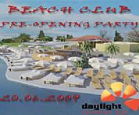 Pre-opening Party @ Daylight Beach Club, Istra