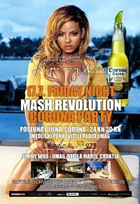 Mash Revolution @ Club Lounge Jimmy Woo, Umag, ISTRIA
