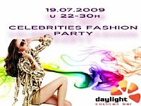 Celebrities Fashion party @ DayLight, ISTRIA