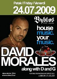 David Morales & D and G @ Byblos, ISTRA