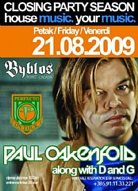 CLOSING PARTY SUMMER SEASON *09 & Paul Oakenfold @ Byblos, ISTRA