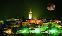 Night tour of the Labin old town