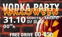 Halloween & vodka party @ Shakakha, ISTRA