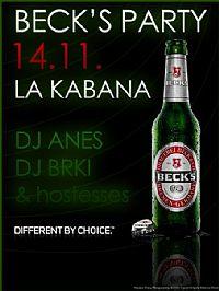 LA KABANA (Kaštelir) - Beck's party with Dj Anes & Dj Brki