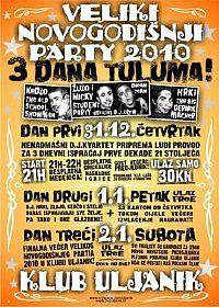 Novogodišnji party 2&3 @ Uljanik, Pula, Istra