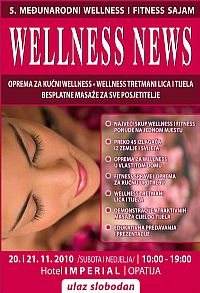 5th WELLNESS NEWS 2010 - Opatija