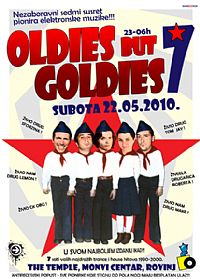 OLDIES BUT GOLDIES 7 @ The Temple, Monvi Center, Rovinj