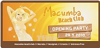 MACUMBA BEACH CLUB - Opening Party