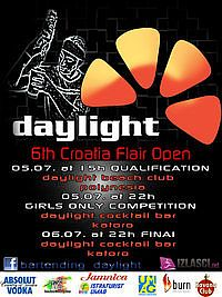 DAYLIGHT: 6th Croatia Flair Open