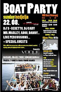 BOAT PARTY ISTRA - THE LAST CRUISE