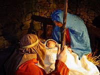 Living Nativity Scene