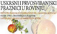 Celebrating Easter and Labor Day in Rovinj