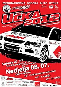 International mountain car race Učka 2012