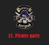 13. Pirates party