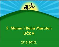 5th Mom and baby Ucka marathon