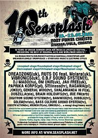 10th Seasplash festival