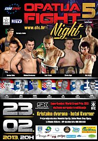 Opatija Fight Night 5
