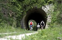 Walking and cycling tour on the Parenzana trace